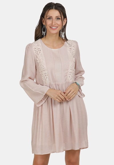 Usha Kleid in puder, Modelansicht