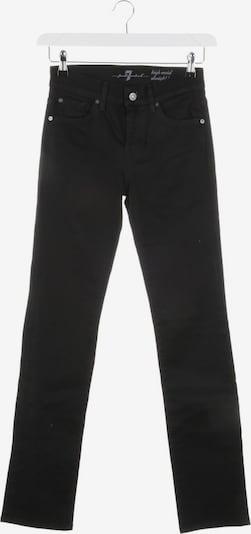 7 for all mankind Jeans in 25 in schwarz, Produktansicht