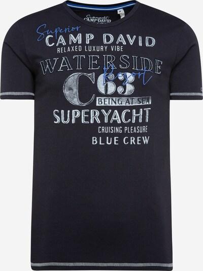 CAMP DAVID T-Shirt in marine / royalblau / weiß, Produktansicht