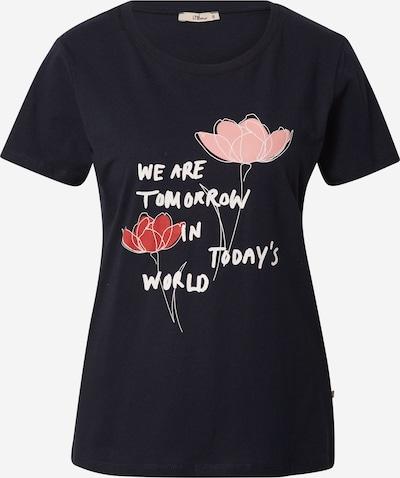 LTB Shirt 'DAWOLI' in nachtblau / rosa / rot / weiß, Produktansicht