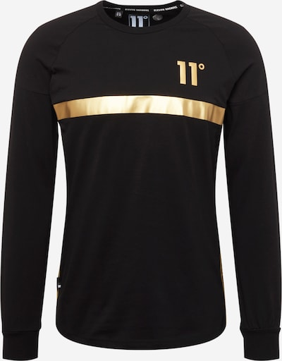 11 Degrees Shirt in Gold / Black, Item view