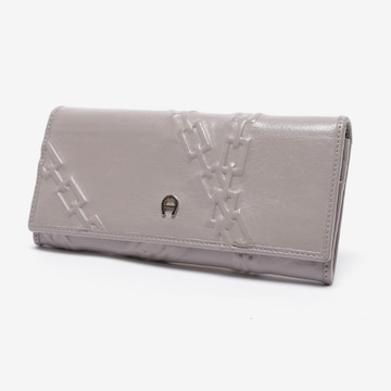 AIGNER Small Leather Goods in One size in Grey