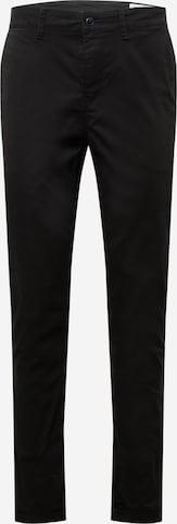Pantalon chino TOM TAILOR DENIM en noir