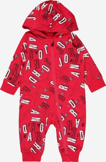 Jordan Комбинезон в сиво / червено / бяло, Преглед на продукта