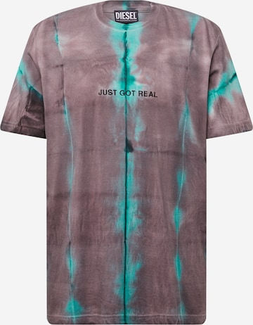 DIESEL Shirt 'JUST' in Lila