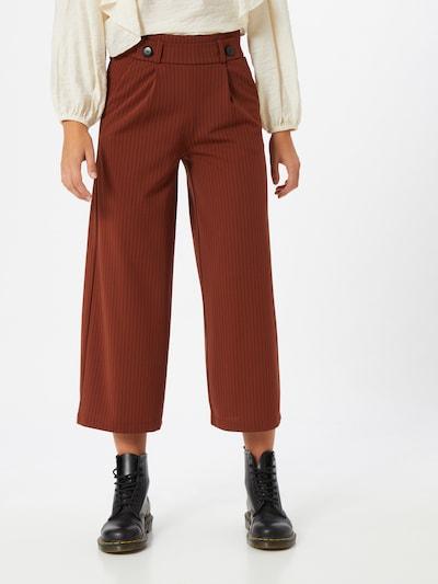 JACQUELINE de YONG Hose in rostbraun, Modelansicht