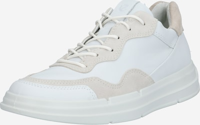 ECCO Sneakers low 'Soft X' in Camel / White, Item view