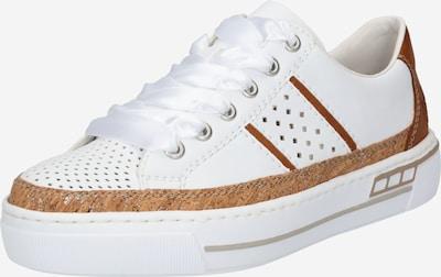 RIEKER Niske tenisice u smeđa / bijela, Pregled proizvoda