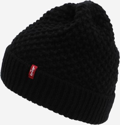 LEVI'S Cepure, krāsa - melns, Preces skats