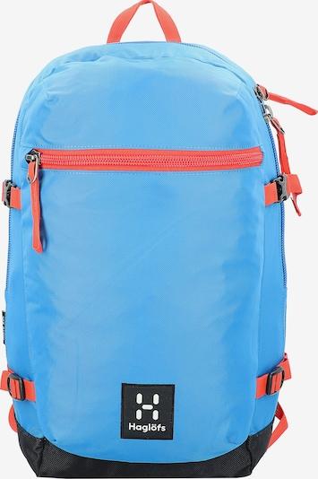 Haglöfs Rugzak 'Mirre' in de kleur Blauw / Rood / Zwart / Wit, Productweergave