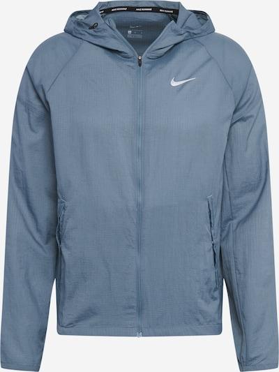 NIKE Veste de sport 'Essential' en bleu, Vue avec produit