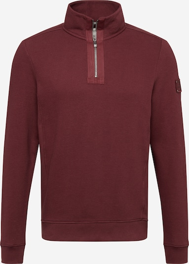 TOM TAILOR Sweatshirt in weinrot, Produktansicht