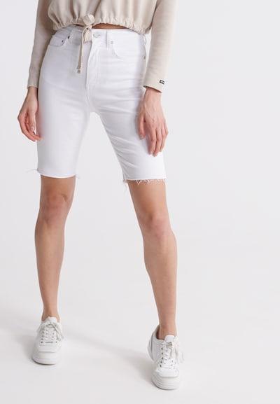 Superdry Jeans 'Kari' in de kleur White denim, Modelweergave