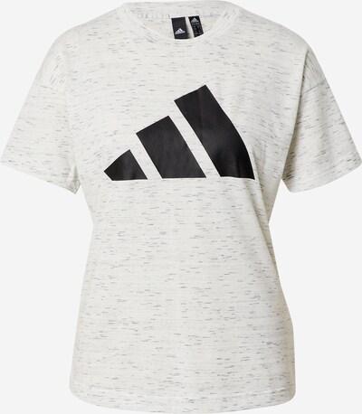 ADIDAS PERFORMANCE T-shirt fonctionnel 'Winners 2.0' en noir / blanc naturel, Vue avec produit