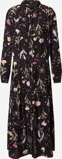 Mavi Robe-chemise en mélange de couleurs / noir, Vue avec produit