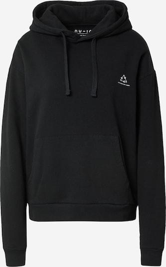 NU-IN Sweatshirt 'Chroma' en noir, Vue avec produit