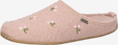 Living Kitzbühel Hausschuh in grün / rosa, Produktansicht