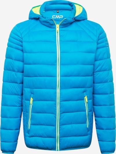 CMP Outdoorjas in de kleur Blauw / Limoen, Productweergave