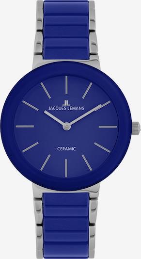 Jacques Lemans Damen Uhr in blau / silber, Produktansicht
