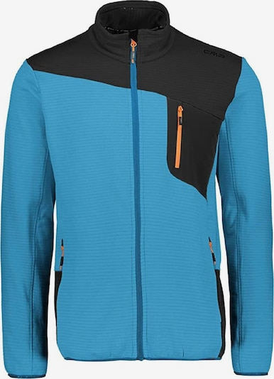 CMP Funktionsfleecejacke in blau / orange / schwarz, Produktansicht