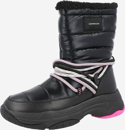 Calvin Klein Jeans Sněhule - fuchsiová / černá / bílá, Produkt