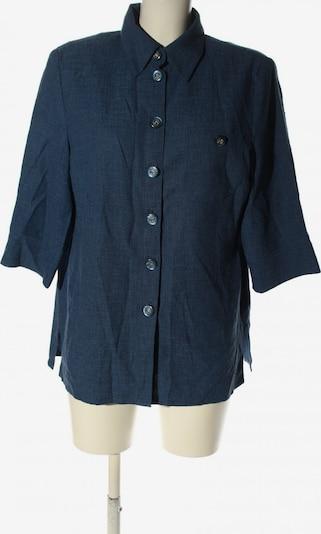 Atelier Creation Kurzarm-Bluse in XL in blau, Produktansicht