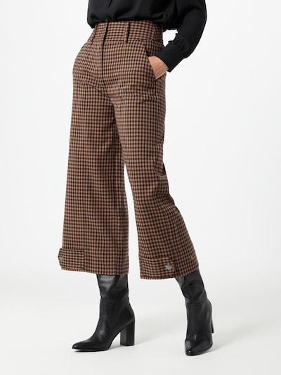 SECOND FEMALE Hose 'Branley' in braun / schwarz, Modelansicht