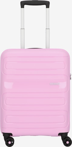 American Tourister Trolley 'Sunside' in Pink