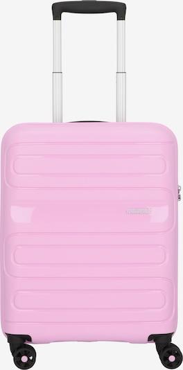 American Tourister Trolley 'Sunside' in pink / schwarz / silber, Produktansicht