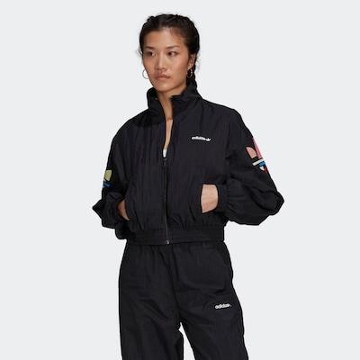 ADIDAS ORIGINALS Between-Season Jacket in Mixed colors / Black: Frontal view