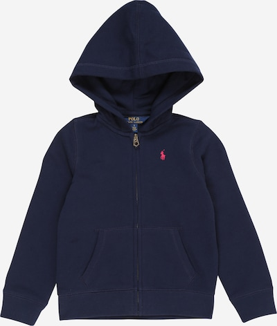 POLO RALPH LAUREN Sweatjacke in navy, Produktansicht