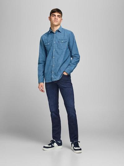 Jeans 'Glenn' JACK & JONES di colore blu scuro, Visualizzazione modelli