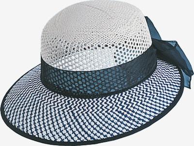 Chaplino Strohhut in blau / weiß, Produktansicht
