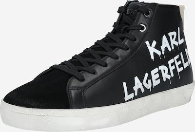 Karl Lagerfeld Šněrovací boty 'SKOOL' - černá / bílá, Produkt