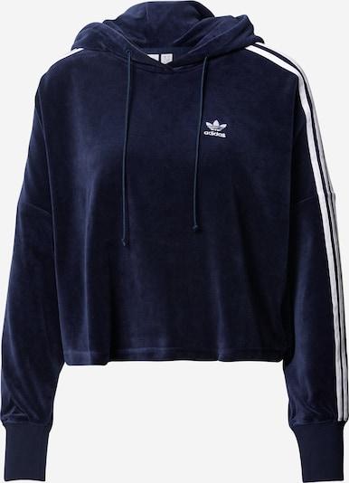 ADIDAS ORIGINALS Sweatshirt in de kleur Donkerblauw / Wit, Productweergave