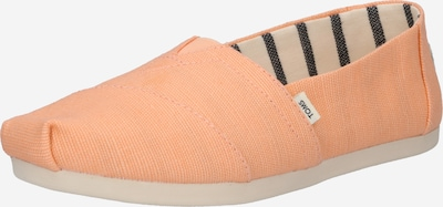 TOMS Slipper 'Alpargata' in orange, Produktansicht