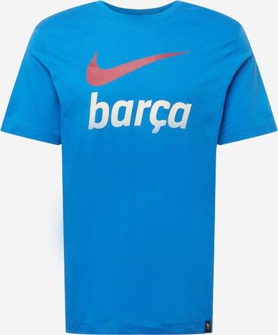 NIKE Shirt in himmelblau / orange / weiß, Produktansicht