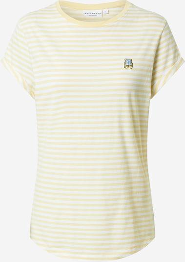 Hafendieb T-Shirt in hellblau / hellgelb / schwarz / weiß, Produktansicht
