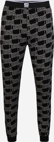 DIESEL Pyjamabroek 'JULIO' in Zwart