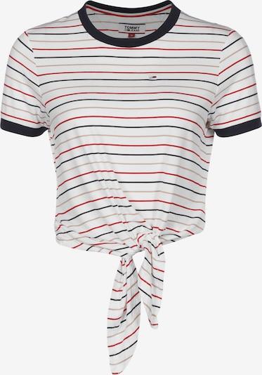 Tommy Jeans T-Shirt in mischfarben / weiß, Produktansicht