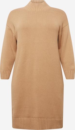 Selected Femme Curve Kleid 'BELLA' in sand, Produktansicht