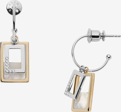 SKAGEN Ohrringe in gold / silber, Produktansicht