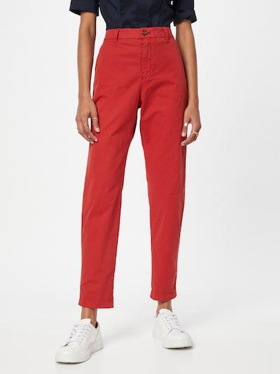 BOSS Casual Hose 'C_Tachini-D' in rot, Modelansicht