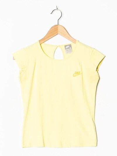 NIKE Sport T-Shirt in XS-S in pastellgelb, Produktansicht