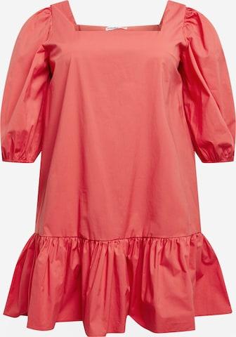 GLAMOROUS CURVE Kleid in Orange
