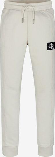 Calvin Klein Jeans Broek in de kleur Beige / Zwart, Productweergave