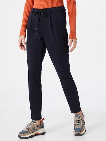 Pantaloni cutați de la EDC BY ESPRIT pe albastru