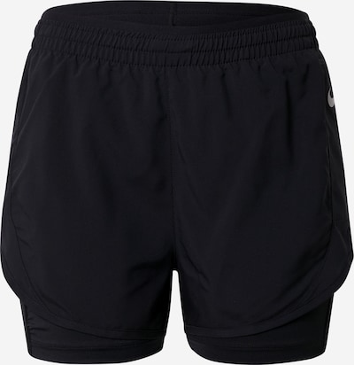NIKE Sports trousers 'TEMPO LUXE' in Black / Silver, Item view