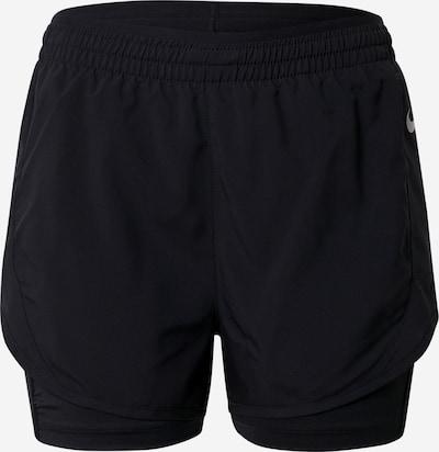 NIKE Spodnie sportowe 'TEMPO LUXE' w kolorze czarny / srebrnym, Podgląd produktu