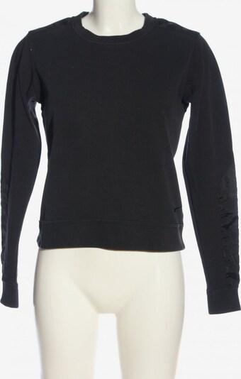 NIKE Sweatshirt in S in schwarz, Produktansicht